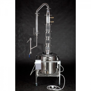 """Дистиллятор """"Moonshine"""" (ГринАлко), 70 литров с ТЭНами на тележке"""