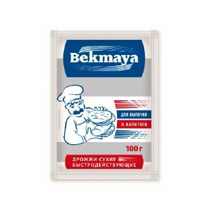 Сухие активные дрожжи БЕКМАЯ (Bekmaya) 100 г