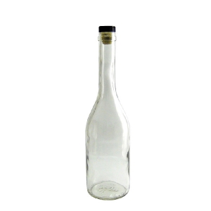 """Бутылка """"Коньячная"""" 0,5 л с пробкой"""
