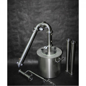 "Дистиллятор ""Модуль"" (ГринАлко), 70 литров с ТЭНами на тележке"