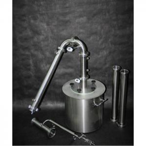 "Дистиллятор ""Модуль"" (ГринАлко), 50 литров с ТЭНами на тележке"