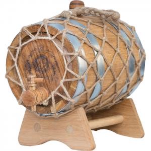 Бочка дубовая «Премиум» (Российский колотый дуб), 3 литра