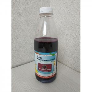Сок концентрированный «Черноплодная рябина», кисл. 3,5-5,6% 1 кг (Континент)