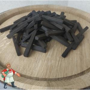 Дубовые палочки для настаивания (сильная обжарка), 50 грамм