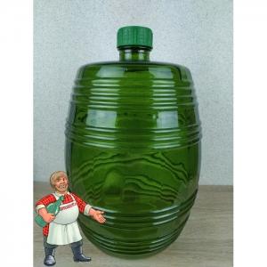"""Бутыль """"Бариле"""" (зелёная), 10 литров"""