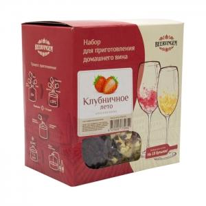Набор для приготовления домашнего вина Beervingem «Клубничное лето» на 13,5 л