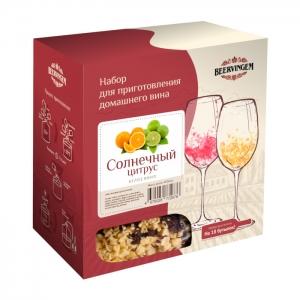 Набор для приготовления домашнего вина Beervingem «Солнечный цитрус» на 13,5 л