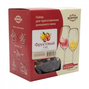 Набор для приготовления домашнего вина Beervingem «Фруктовый сад» на 13,5 л