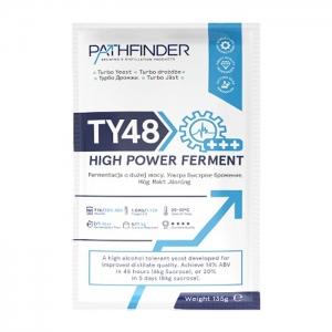 Спиртовые дрожжи Pathfinder «48 Turbo High Power Ferment», 135 г